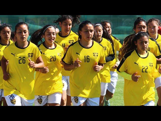 Vial Femenino se prepara para el Transición 2020