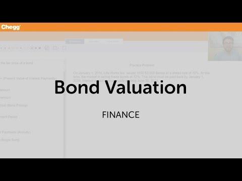 Bond Valuation   Finance   Chegg Tutors