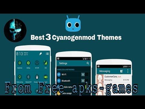 Best Cyanogenmod Themes