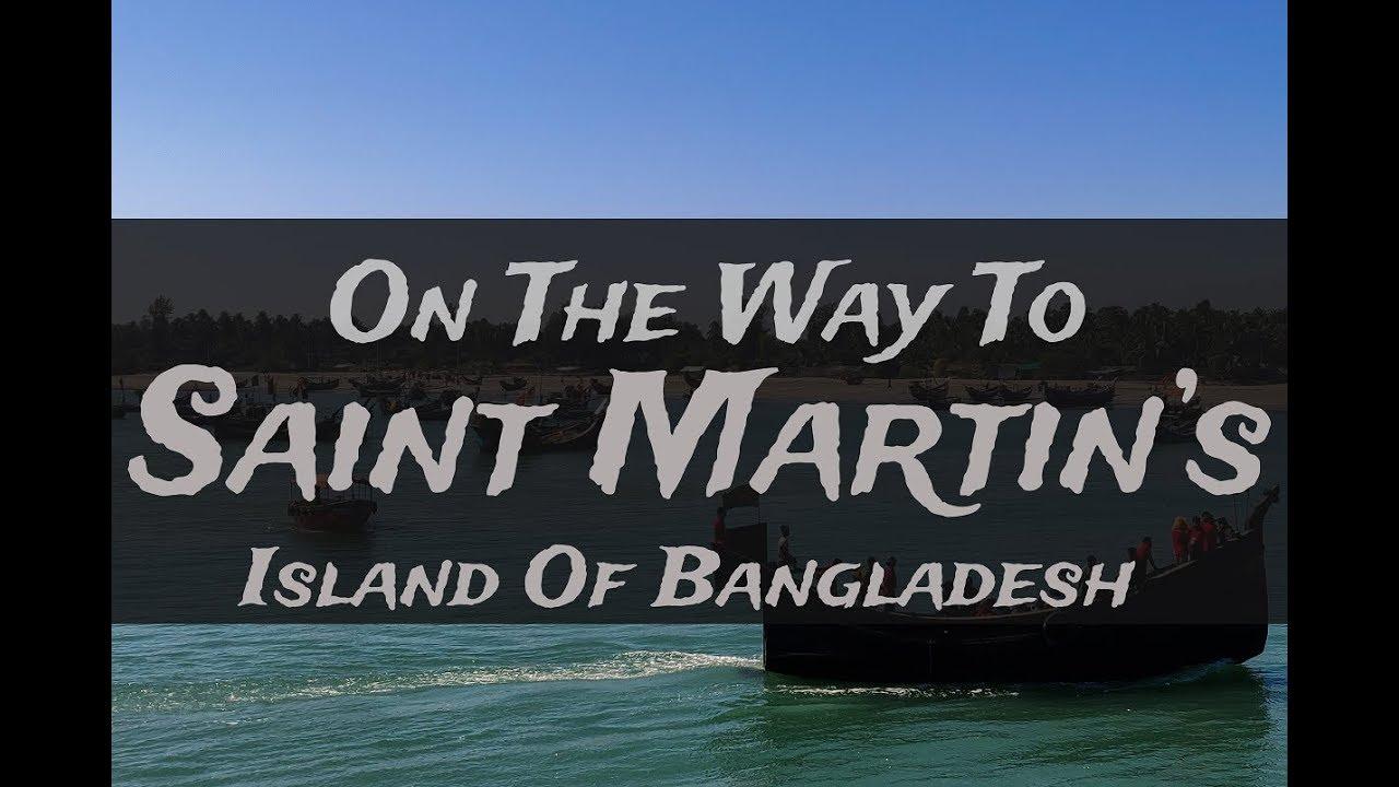 Way to Saint Martin's Island in Bangladesh