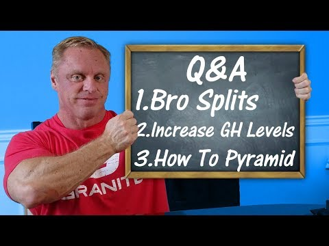 Q & A | Bro Splits Can Fasting Increase GH How To Pyramid