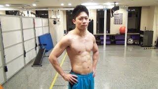 【筋トレ】腹筋をバリバリに割るシックスパックトレーニングのやり方 thumbnail