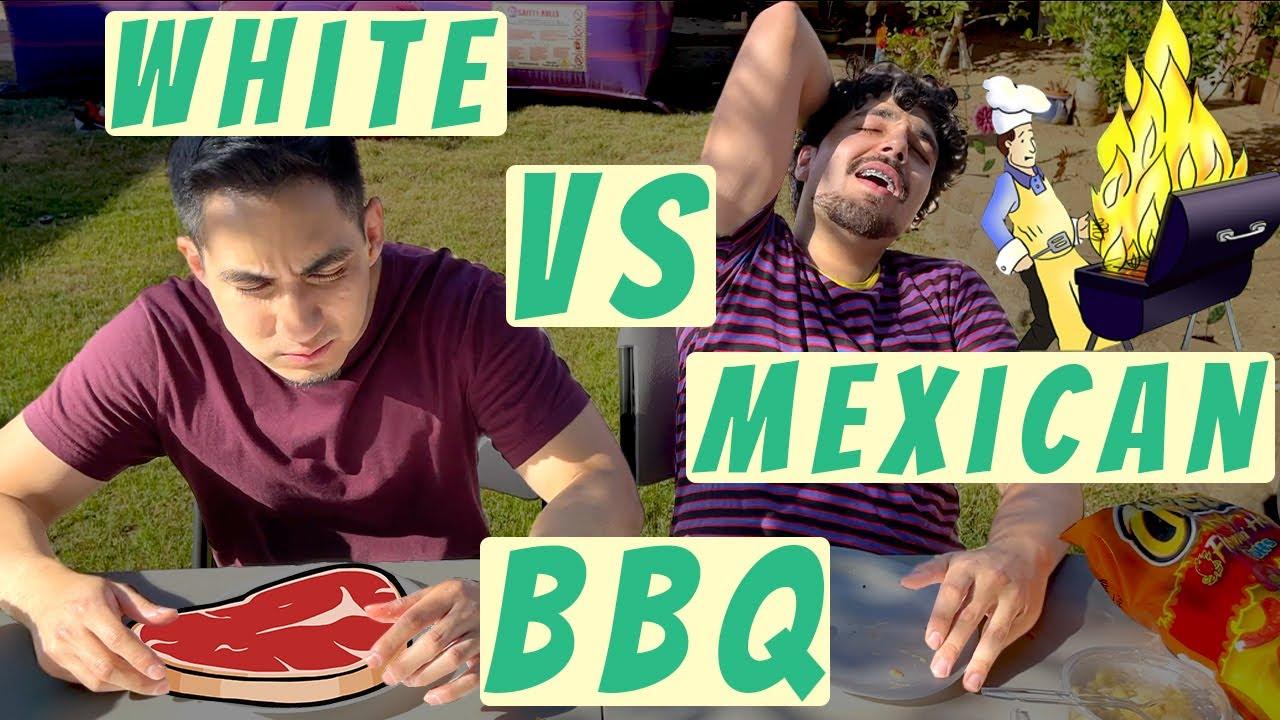 White vs Mexicans BBQ   MrChuy FT The Crazy Gorilla