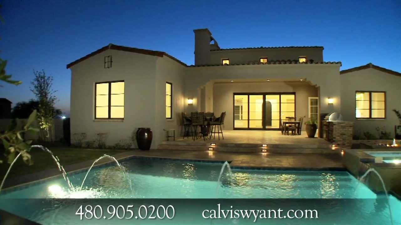 Scottsdale Luxury Custom Homes, Homebuilders U0026 Real Estate   Calvis Wyant  Video   YouTube