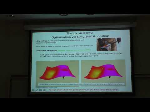 "Daniel Lidar - ""Adventures in Quantum Optimization"" (UMBC Colloquium 2018)"