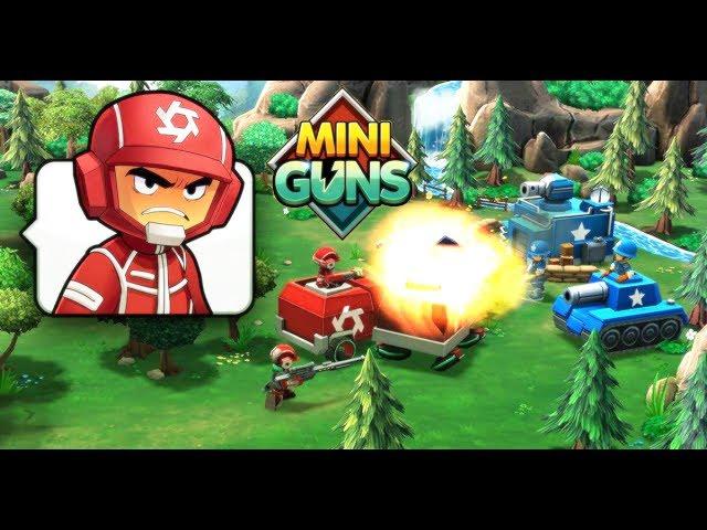 Mini Guns - Um Clash of Soldados - Facebook Browser Game
