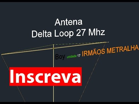 3 ELEMENT DELTA LOOP ANTENNA 11 METERS | FunnyCat TV