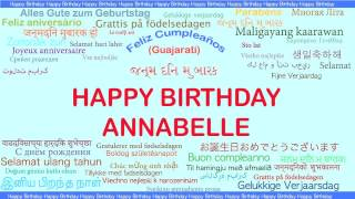 Annabelle   Languages Idiomas - Happy Birthday