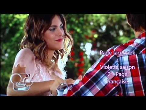 Violetta saison 2 pisode 15 en fran ais moment leonetta youtube - Musique violetta saison 2 ...