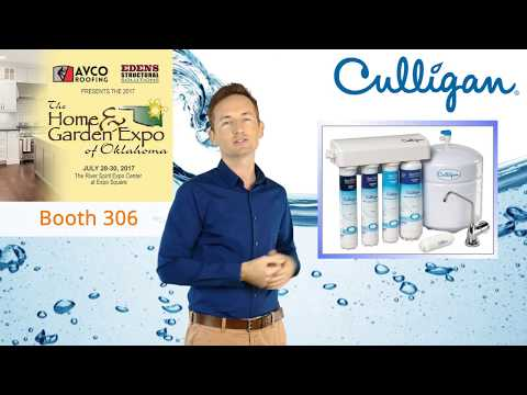 Visit Culligan and WIN a FREE Water Filtration System at the Tulsa Home & Garden Expo