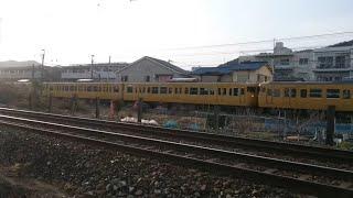 JR西日本 113系(P-13編成+P-03編成)新井口〜西広島