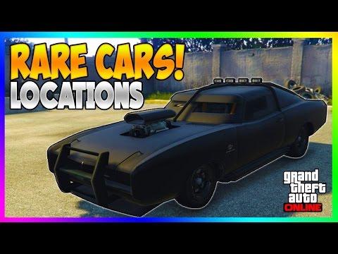 GTA 5 - FREE SECRET RARE CARS LOCATIONS IN...
