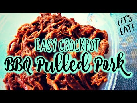 Crockpot Pulled Pork 1 Pot, 5 Awesome Meals