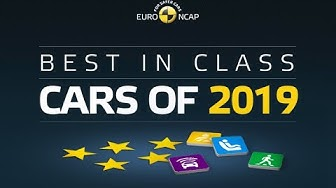 Euro NCAP Best in Class Cars of 2019
