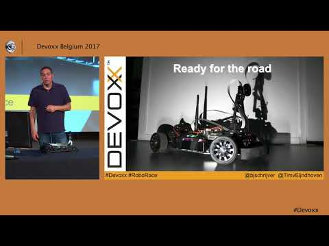 Building a self driving RC car by Bert Jan Schrijver and Tim van Eijndhoven