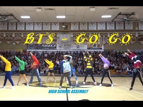 [HKDC] BTS - GO GO SCHOOL ASSEMBLY Public Dance Performance