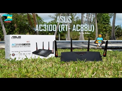 ASUS AC 3100 | World's Best Wifi Router [2016] (Unboxing & Over-View)