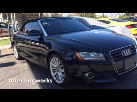 Audi A5 Convertible top replacement