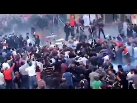 Taksimdeki Eylemde Polise saldırı
