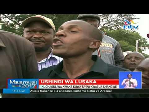 Kuchaguliwa kwa Ken Lusaka kuwa spika kwazua shangwe Bungoma