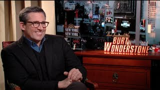 Steve Carell Interview for THE INCREDIBLE BURT WONDERSTONE