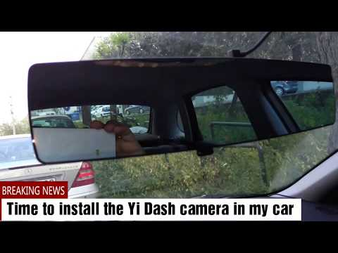 YI Mirror Dash Cam 1080P - Review And Installation