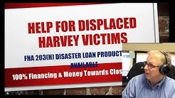 Hurricane Harvey Home Loan Disaster Relief Reminder In South Houston