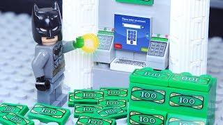 Lego Superhero Lucky Coin Money Robbery