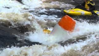 Гирвас: прикатка перед Кубком России по фристайлу на бурной воде 2014