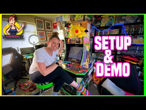 Mission Accomplished! WOW! The Arcade1up Cab is complete from TheGebs24