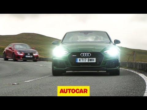 ​Audi RS5 vs Lexus RC F​ | better than a BMW M4 or Mercedes-AMG C63? | Autocar