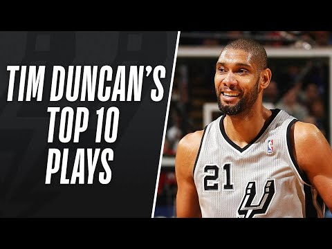 Tim Duncan's Top 10 Plays of His Career