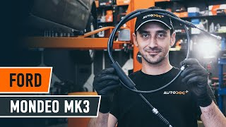 Remove Emergency brake cable online instructions