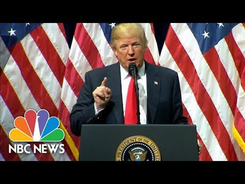 President Trump To FBI Academy Grads: I'm A 'True Friend And Loyal Champion' To Police | NBC News