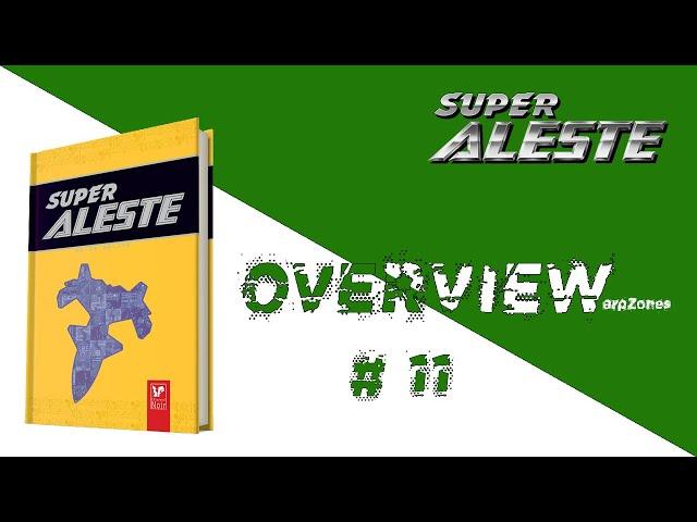 Overview / Aperçu # 011 Guide Deluxe Super Aleste SNES (L'Ecureuil Noir)