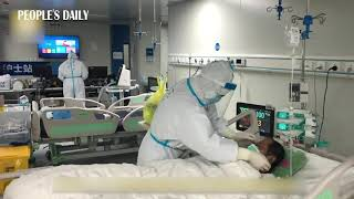 Ventilators and IV pumps in Leishenshan makeshift hospital in #Wuhan had gone off duty