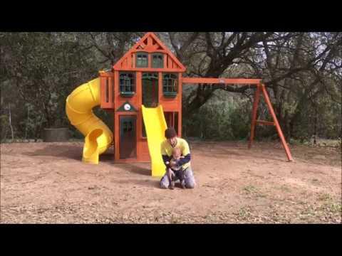Costco Playset (Build) - Twin Mountain Lodge - Cedar Summit Playsets