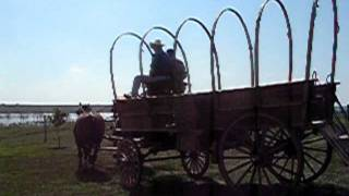 5th Wheel Covered Wagon.wmv