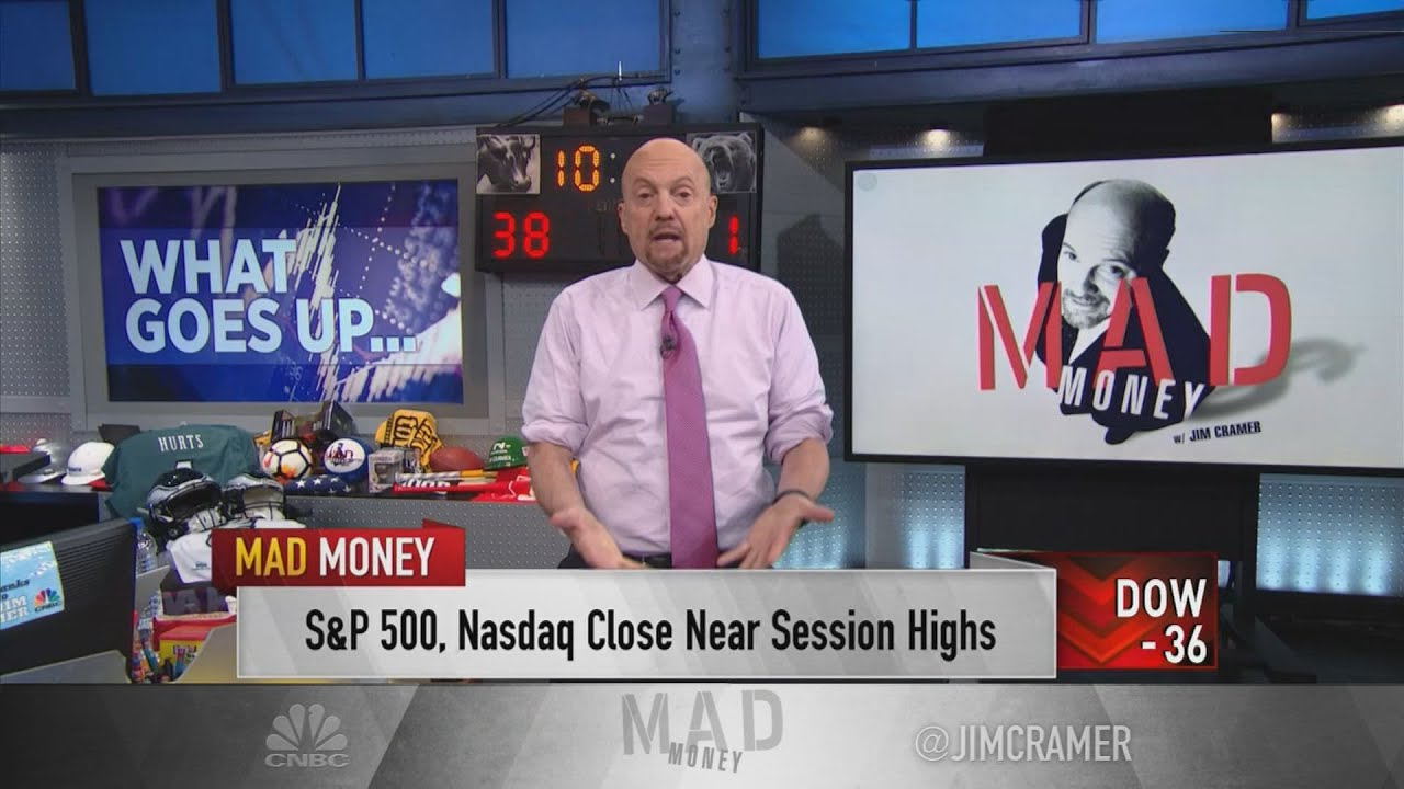 Download Jim Cramer says the stock market may start to struggle if oil keeps rallying