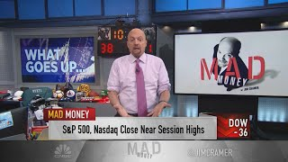 Jim Cramer: The stock market may start to struggle if oil keeps rallying