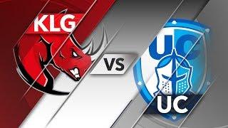 KLG vs UC - CLS Apertura 2018 S3D2P2