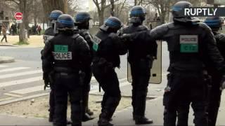 Беспорядки в Париже в ходе протестов против полицейского насилия