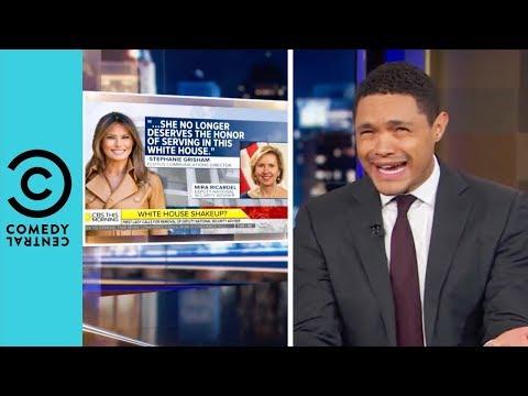 Melania Has Caught the Firing Bug | The Daily Show With Trevor Noah