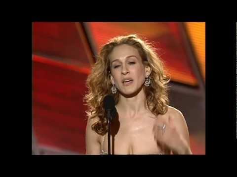 Sarah J Parker Wins Best Actress TV Series Musical or Comedy - Golden Globes 2000
