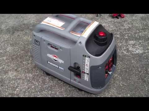 Briggs & Stratton PowerSmart Series 30553 2000W Inverter Generator