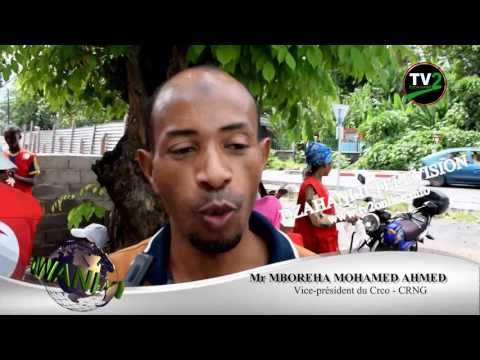 JOURNAL COMMUNAUTAIRE PAR DZAHANI II TELEVISION   COMORES