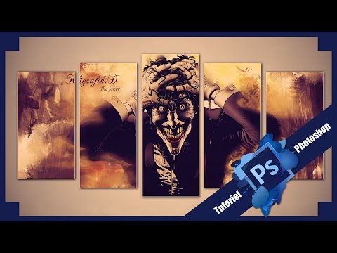 Tuto photoshop montage wallpaper volets