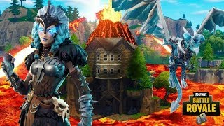 *NEW* FORTNITE CUBE LOOT LAKE VOLCANO EVENT LIVE NOW DURING FALL SKIRMISH EVENT IN FORTNITE!