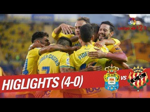 Resumen de UD Las Palmas vs Nàstic (4-0)