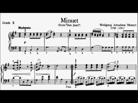 Piano Pieces for Children Grade 2 No.3 Mozart Don Juan ...